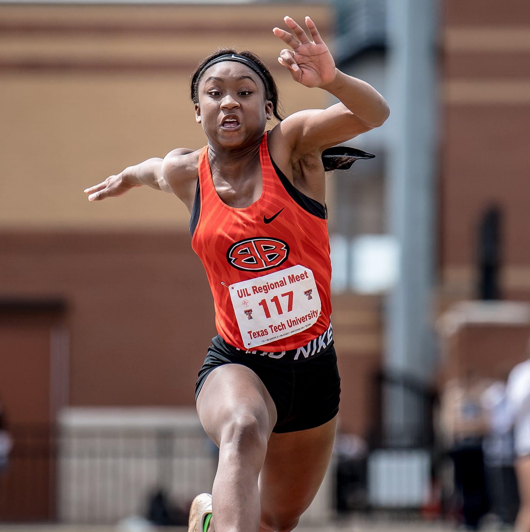 REGION I-4A TRACK: Burkburnett's Lee wins triple jump; Hirschi girls sharp in prelims