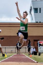 Iowa Park's Slayton Ochoa finished fourth in the Region I-4A boys long jump.