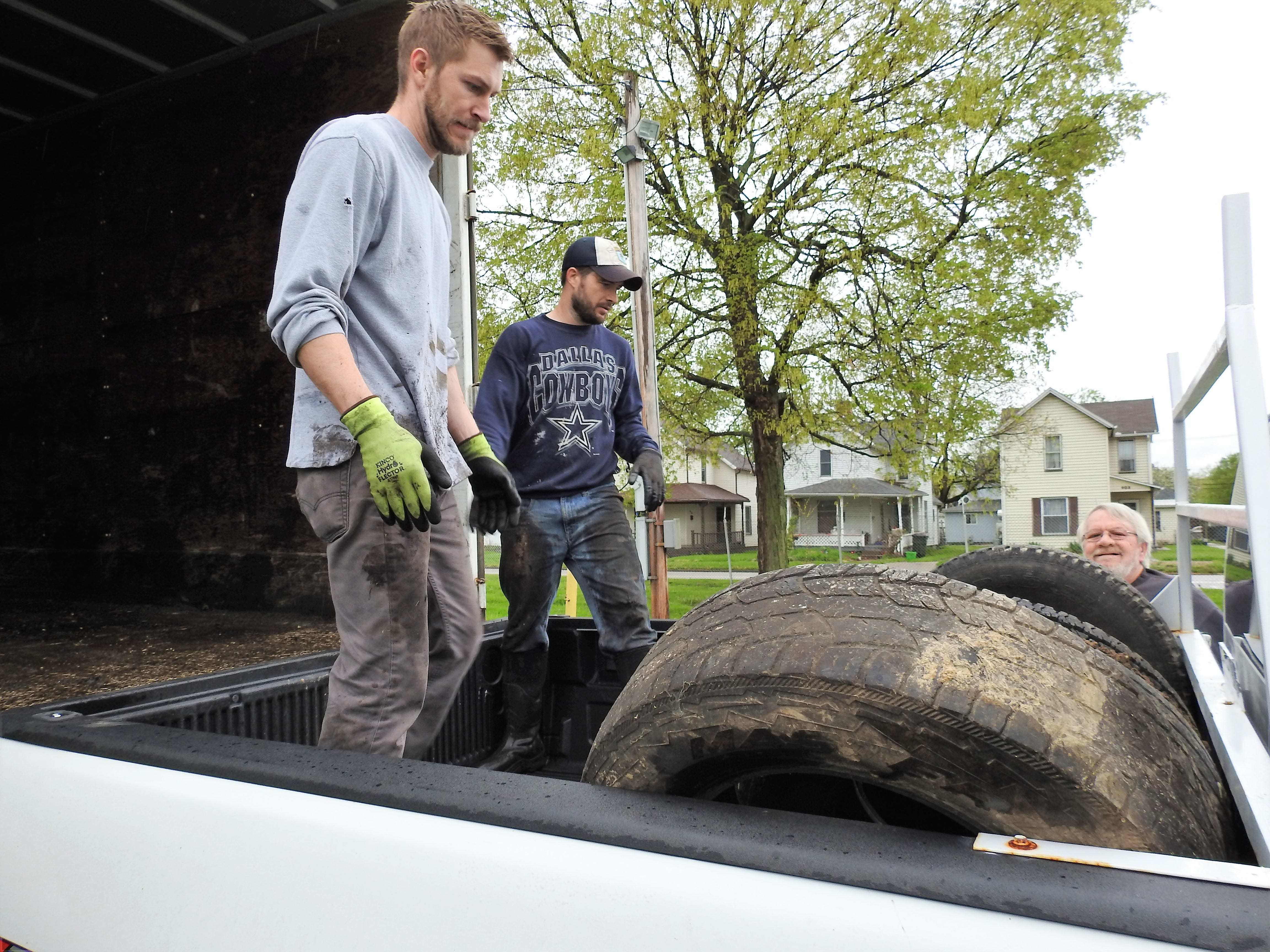 More than 1,000 tires taken in scrap collection