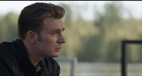 "Chris Evans in ""Endgame."" Even the toughest Avenger knows that a three hour movie can be tough after too much fluid intake from large movie drinks."