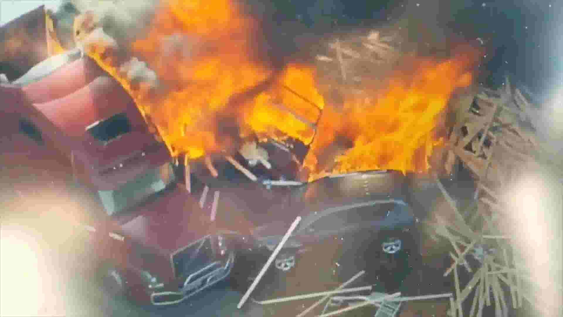 Semi driver taken into custody after fiery I-70 pileup near Denver