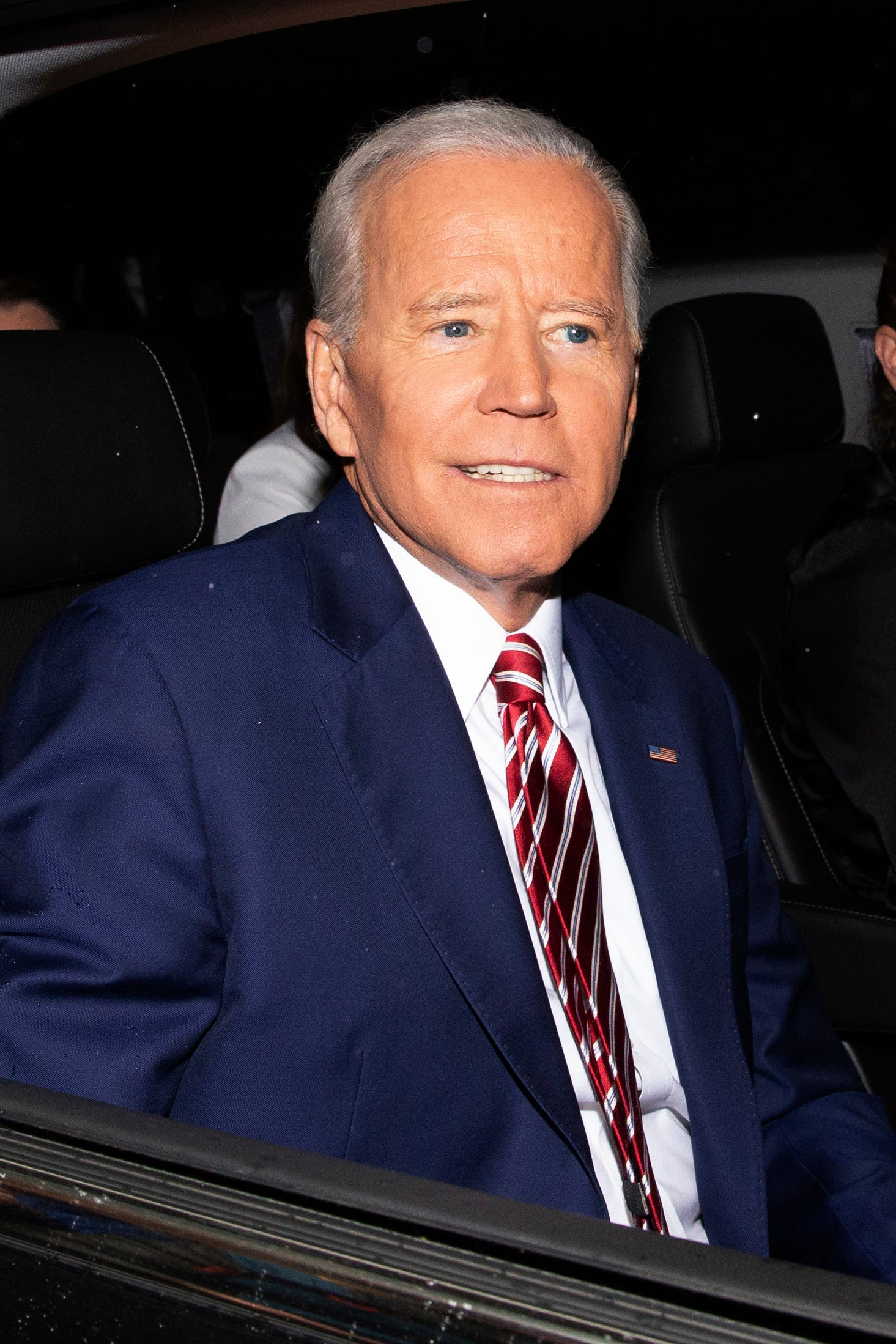 Joe Biden, 76, says he has no plans to limit himself to one-term in the White House
