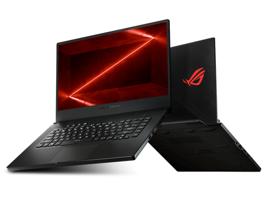 At $1,099,  the Zephyrus G GA502 is one of the most affordable (and ultraslim) gaming laptops, which is powered by GeForce graphics with an AMD Ryzen CPU.