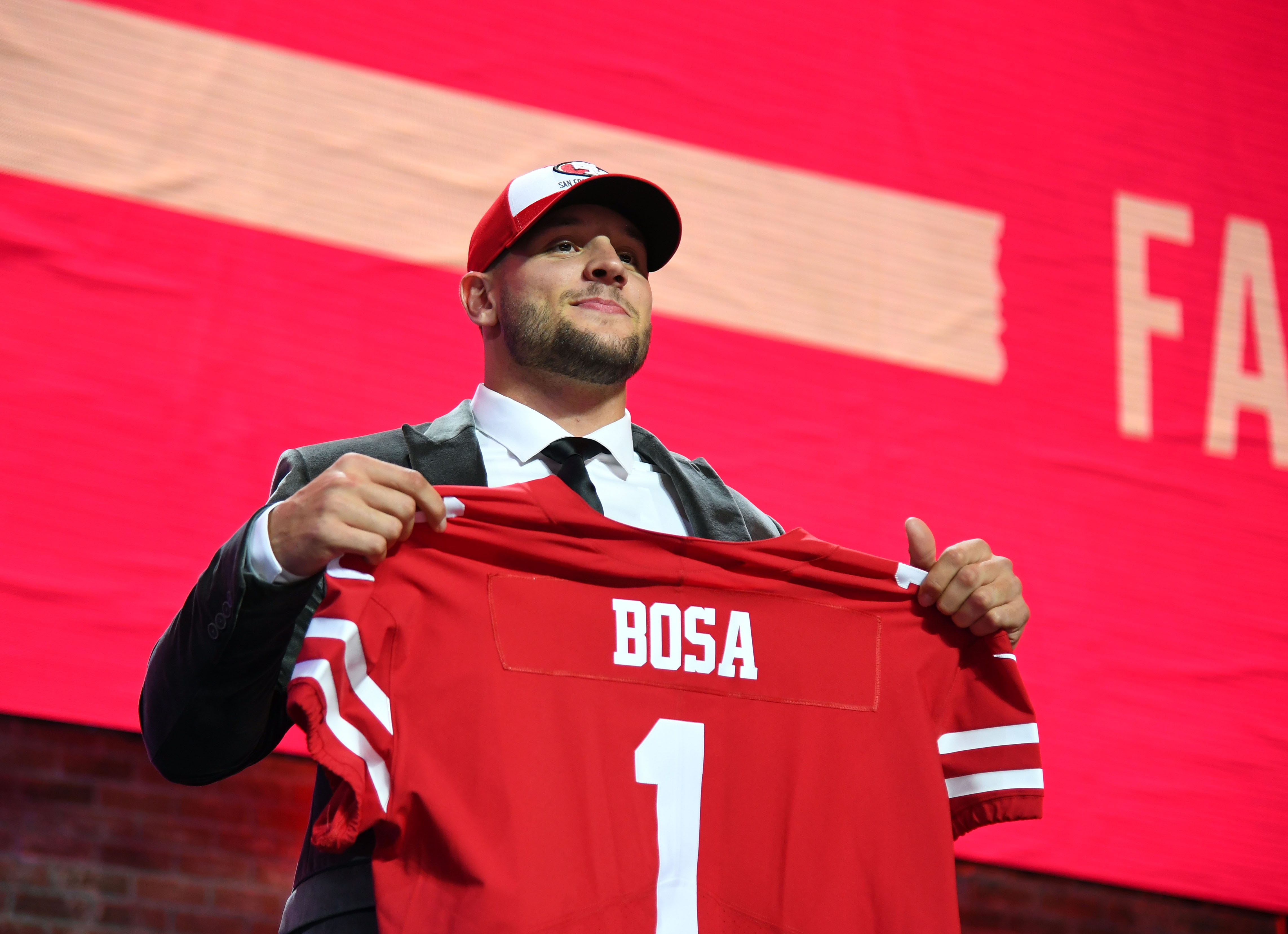 1ae051262 NFL draft 2019: Nick Bosa must prove he learned from offensive comments