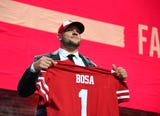USA TODAY Sports' Michael Middlehurst- Schwartz breaks down the game of the newest San Francisco 49ers: Ohio State defensive end Nick Bosa.