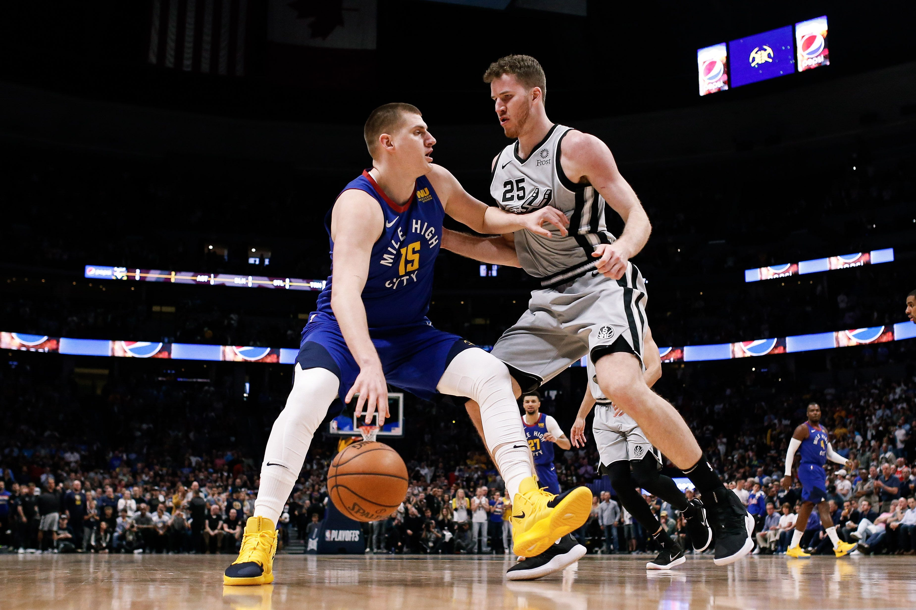2ff1b6f0e04 Nuggets center Nikola Jokic and Spurs center Jakob Poeltl are among the 60  international players who