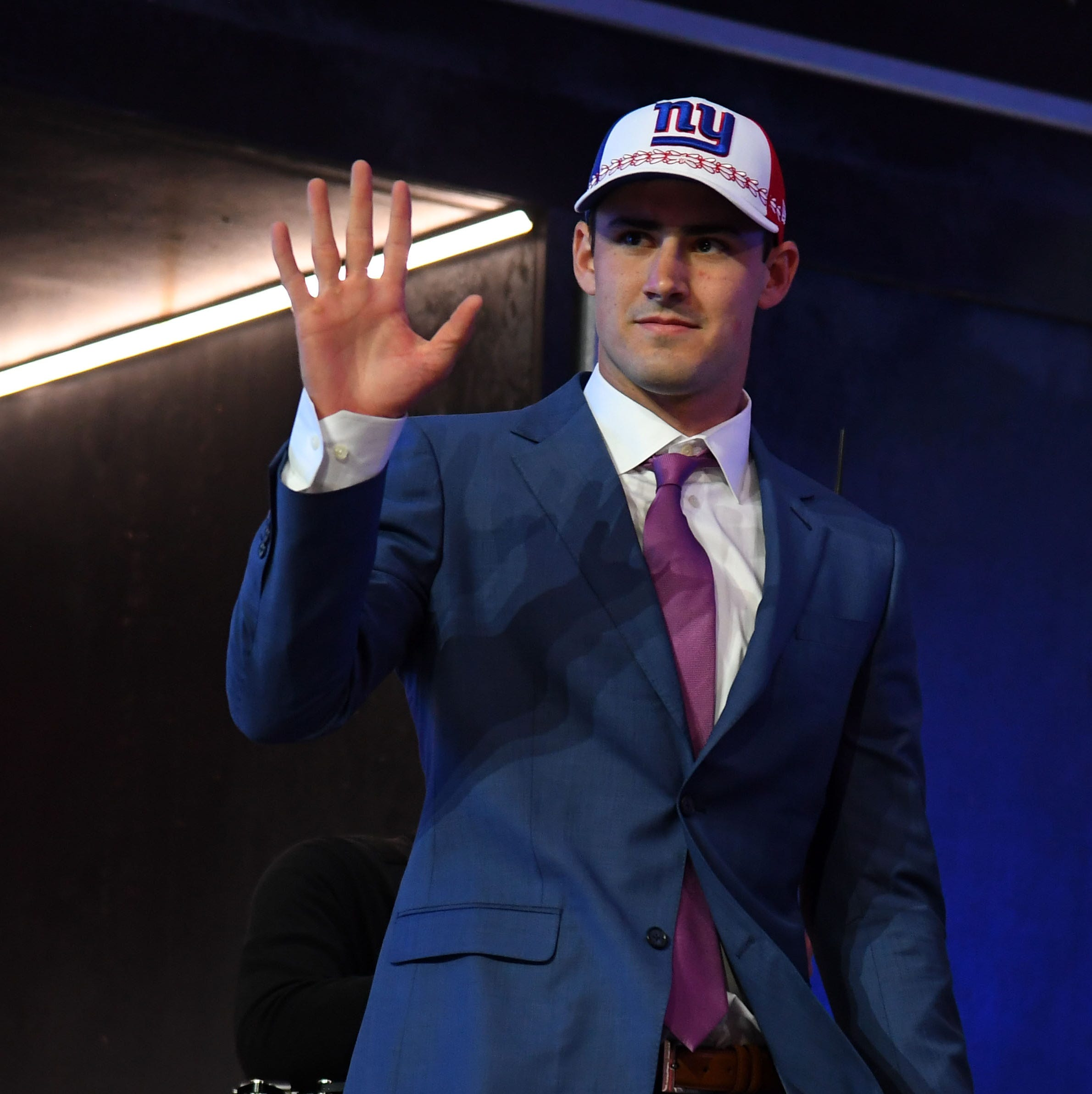 Duke quarterback Daniel Jones was taken sixth overall by the New York Giants.