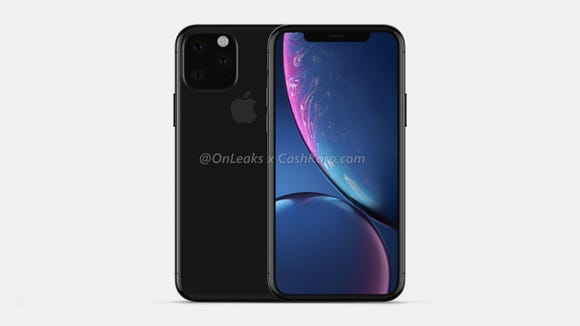 iPhone 11 render