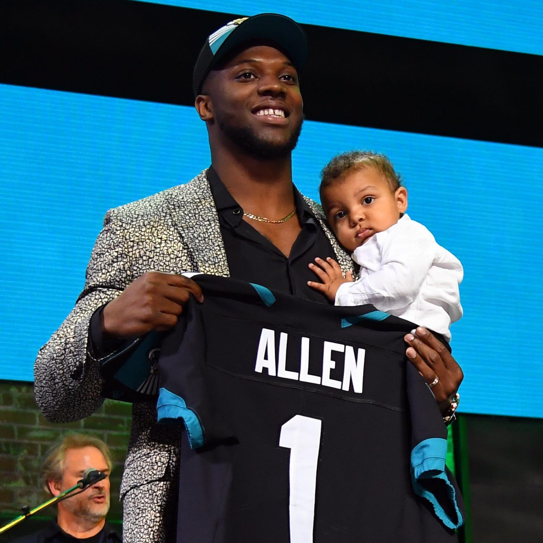 Jacksonville Jaguars take Kentucky star Josh Allen with No. 7 pick in NFL draft
