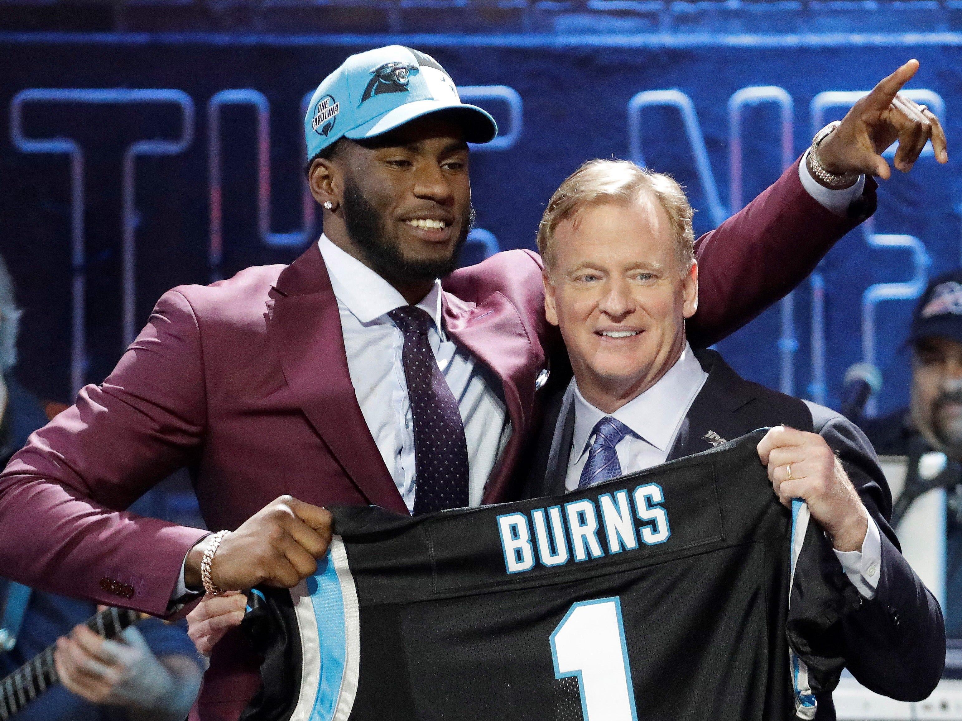 16. Carolina Panthers: Brian Burns, OLB/DE, Florida State