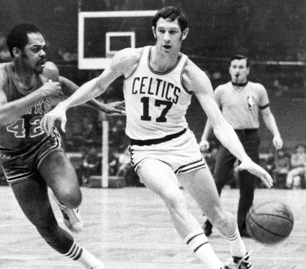 John Havlicek, basketball, 1940-2019.