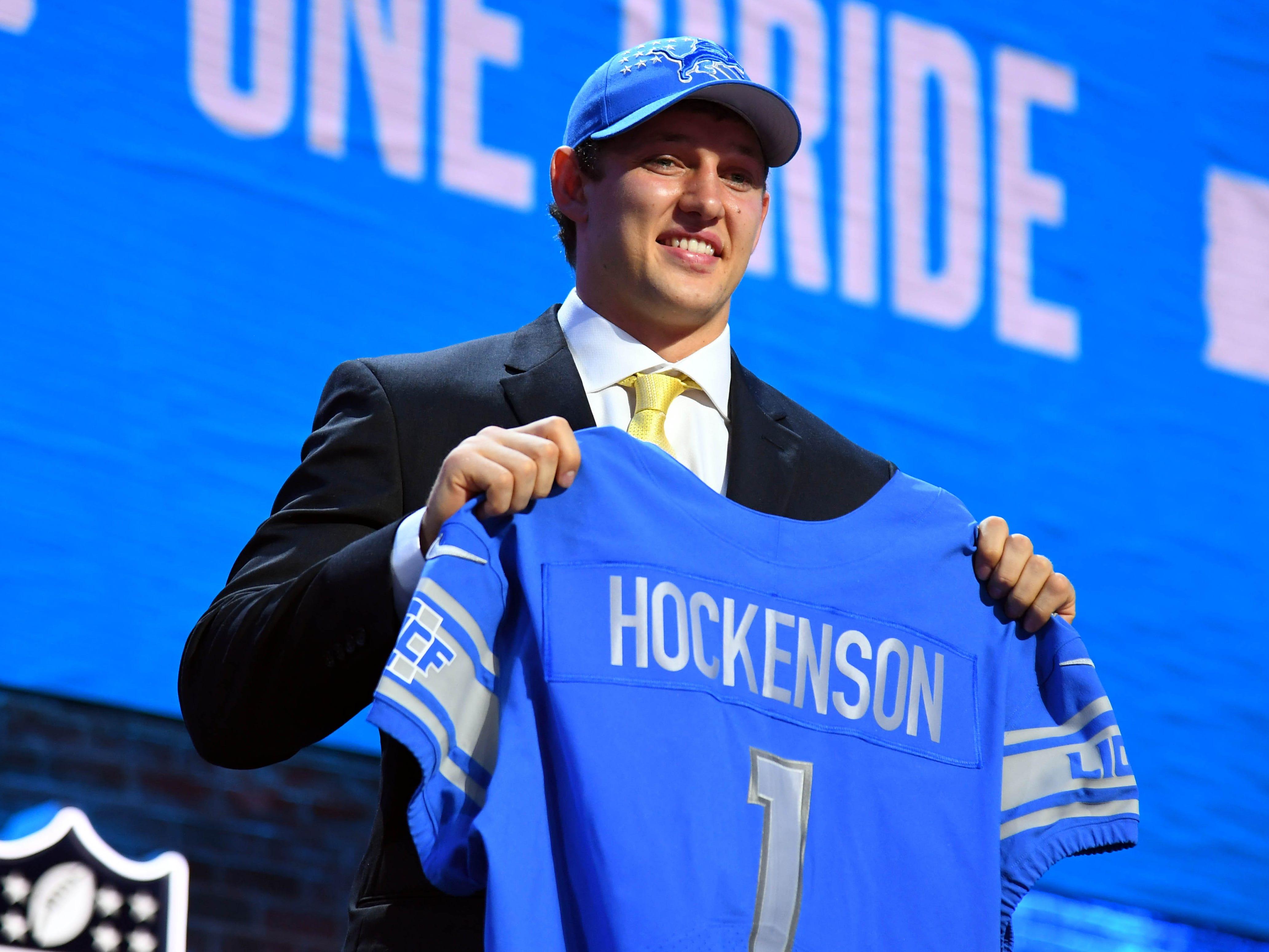 8. Detroit Lions: T.J. Hockenson, TE, Iowa
