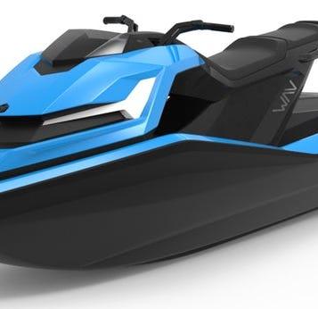 This jet ski-style concept is Nikola's vision of a zero-emission future.