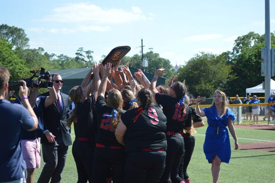 West Ouachita won its first softball title Saturday after defeating Buckeye 3-0 in the Class 4A championship game.
