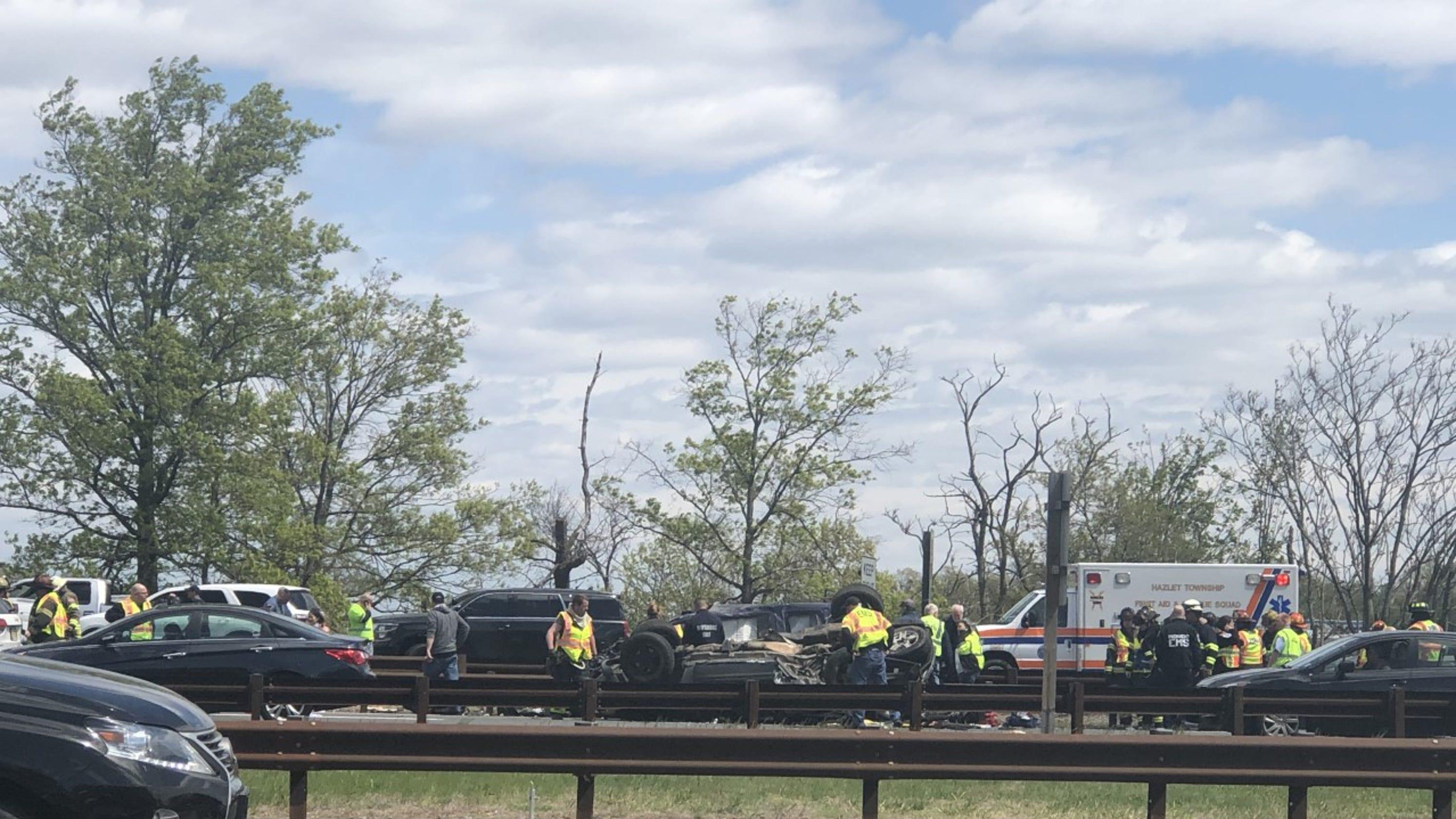 Garden state parkway crash hazlet man dies from injuries - Accident on garden state parkway north today ...