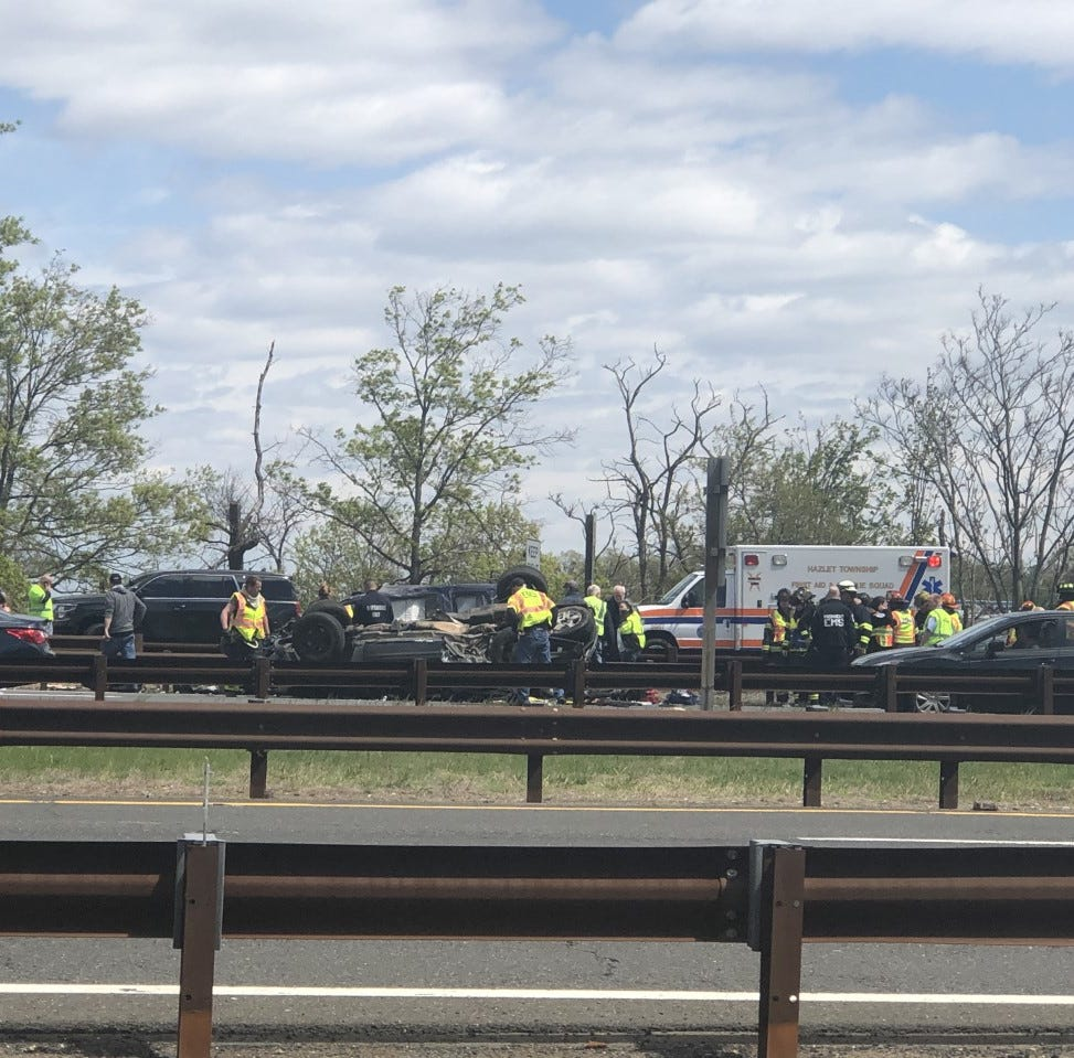Garden State Parkway crash: Hazlet man dies from injuries in crash that mangled cars, closed lanes