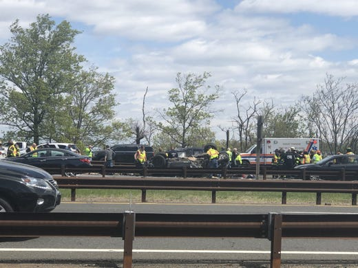 Garden state parkway five car crash has lanes closed - Car accident garden state parkway ...