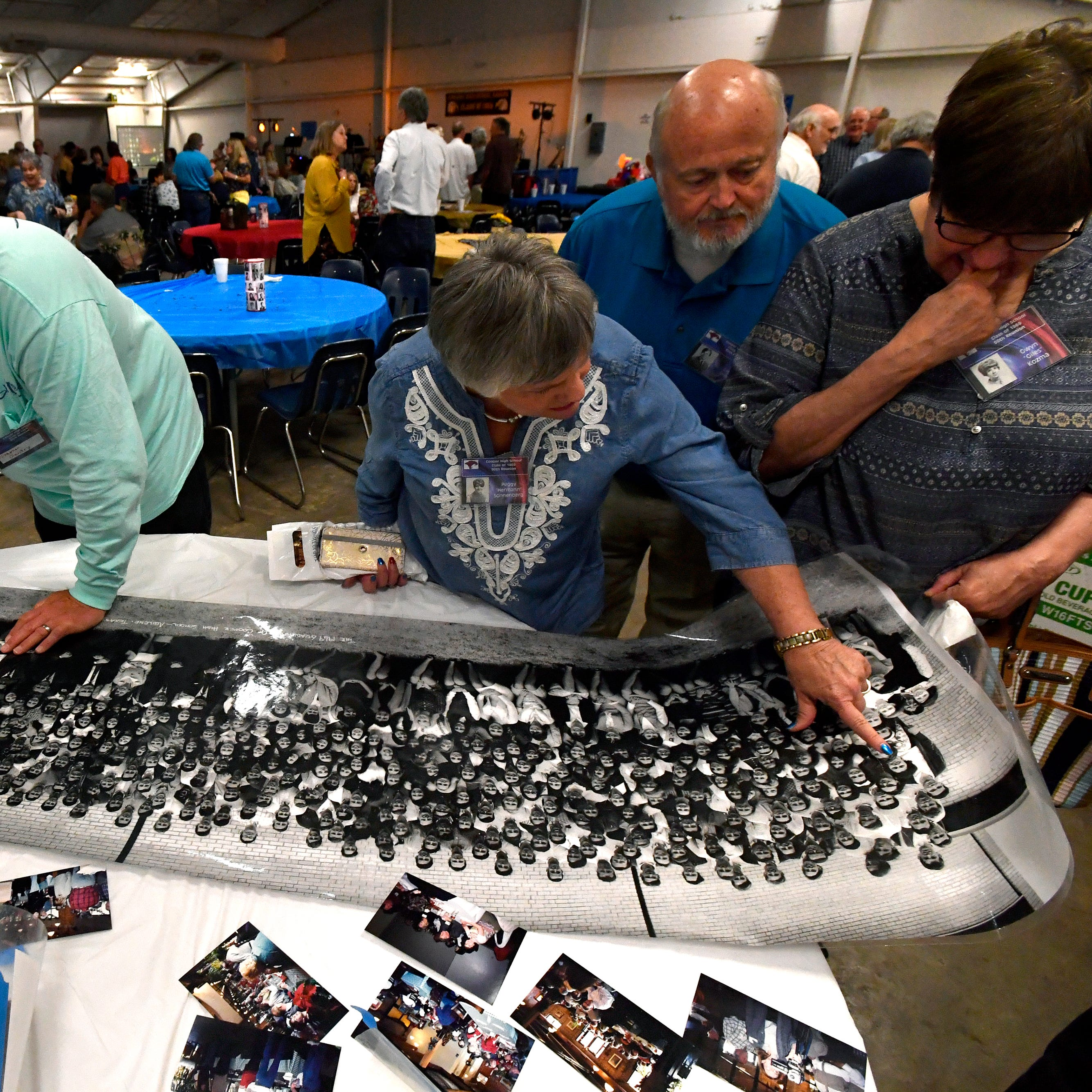 Rival Cougars, Eagles flock together for 50th reunion