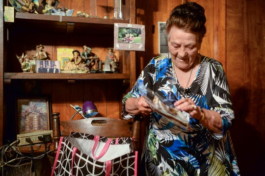 Mary Messer goes through the gifts she bought for her daughter, Margaret Lee Gottschall, before reuniting with her after 60 years.