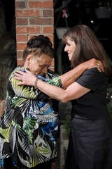 Mary Messer and her daughter, Margaret Lee Gottschall reunited after 60 years April 26, 2019.