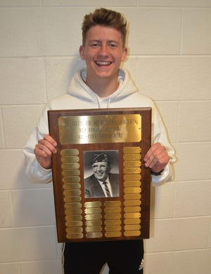 Lakeview junior Skyler Sebring was named co-winner of the  Most Outstanding Performer of the boys meet at the All-City Track Championships.