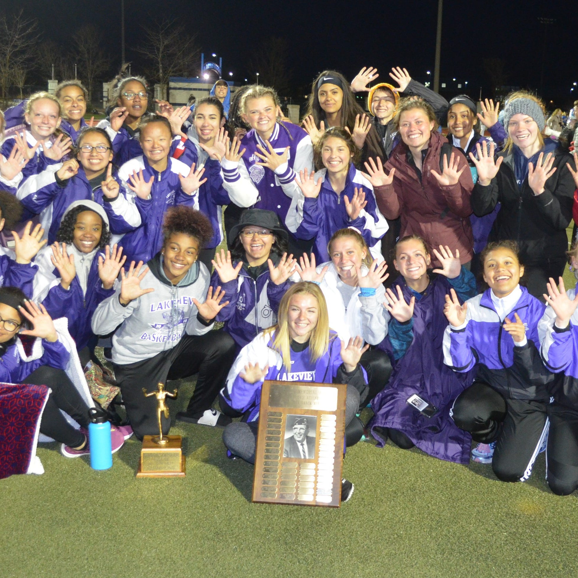 A Perfect 10! Lakeview wins 10th straight All-City track title