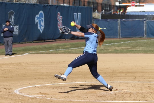 Binghamton High graduate Paige Rauch has a 2.56 ERA this season for Villanova.