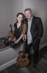 Celtic guitarist Tony McManus is joined by vocalist-violinist Julia Toaspern for a May 5 concert at Rolling Bay Hall on Bainbridge Island.