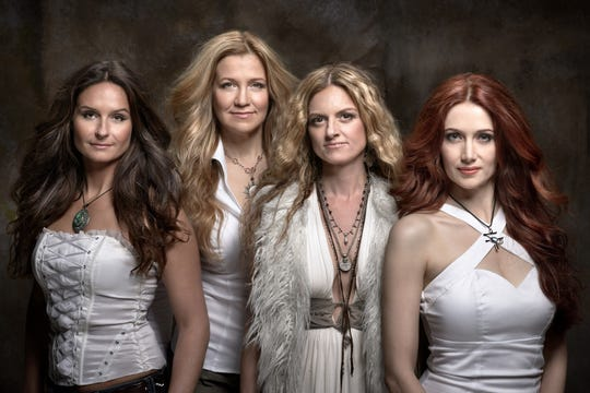 All-female Led Zeppelin tribute band Zeparella play May 4 at The Point Casino in Kingston.