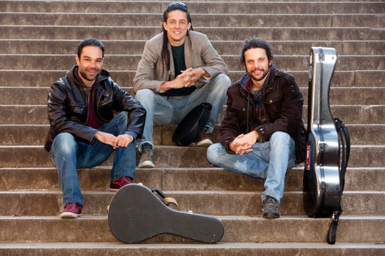 Grammy Award nominees Trio Brasileiro are in concert May 3 at Rolling Bay Hall on Bainbridge Island.