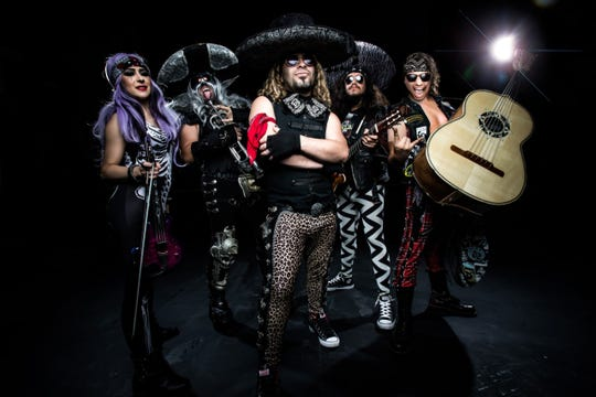 Metalachi combine metal, mariachi and comedy in a May 5 show at the Suquamish Clearwater Casino Resort.