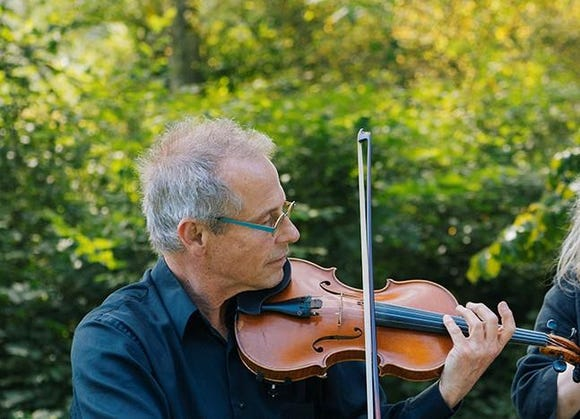 Violinist Stephen Bryant fronts a trio of Seattle Symphony musicians performing a May 5 First Sundays concert at the Bainbridge Island Waterfront Community Park.