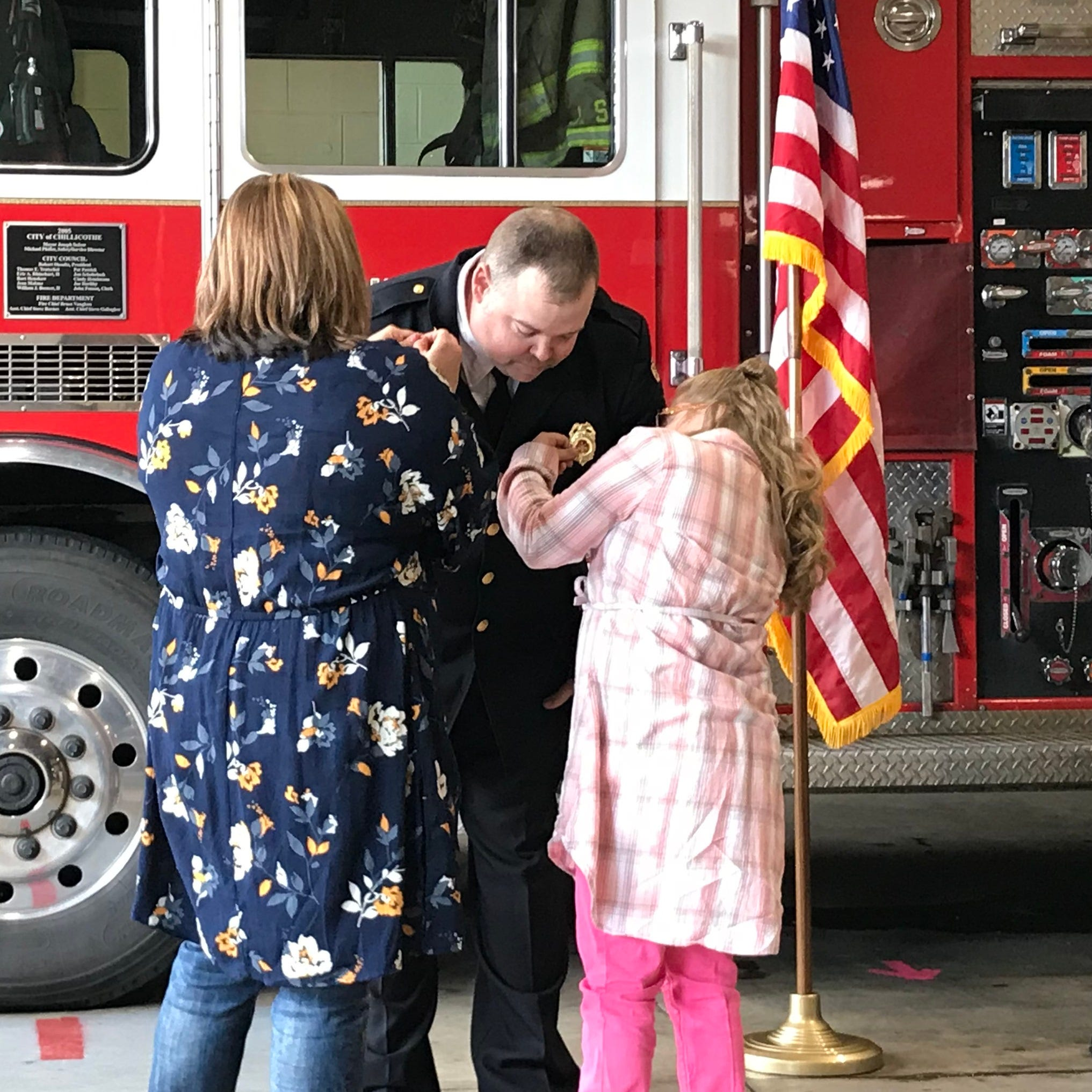 New chapter taking shape for Chillicothe Fire Department with recent promotions