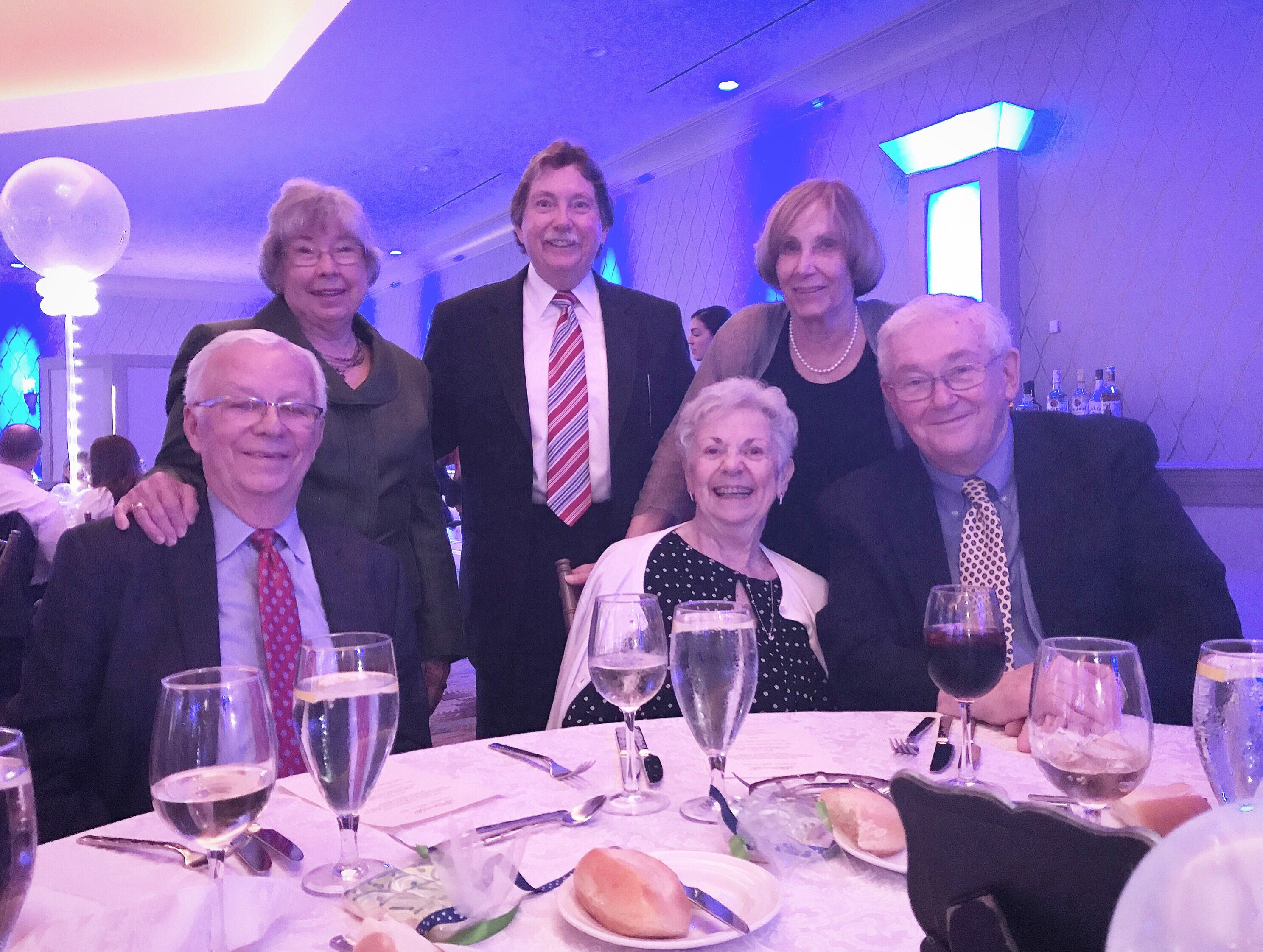 Alternatives, Inc. celebrated the agency's 40th anniversary at the 2019 Dignity Gala, hosted by The Marigold in the Somerset section of Franklin Township on Saturday, April 13. The event raised more than $70,000 to support Alternatives' many service initiatives, which include support coordination, case management, supportive counseling, life skills education, a day program, employment evaluation, training and placement, trial work experience, supported employment, and transition services, providing services to more than 600 individuals in nine New Jersey counties. Celebrants pictured (from left, standing)are Dell Guynes, Alternatives' Trustee Richard Sample, and Gwyneth Sample; and (from left, seated)former Board of Trustees Chairman Sam Guynes, Barbara Westlein and Trustee Joseph Westlein. Sample,Guynes and Westlein all joined the Alternatives' Board during their tenure at Johnson & Johnson. To see more Dignity Gala photos, visit Alternatives' website at www.alternativesinc.org.