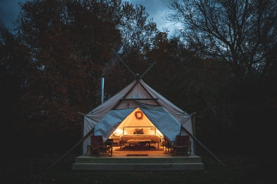 The Fields of Michigan, a luxury glamping experience in South Haven, is expected to open June 15, 2019.