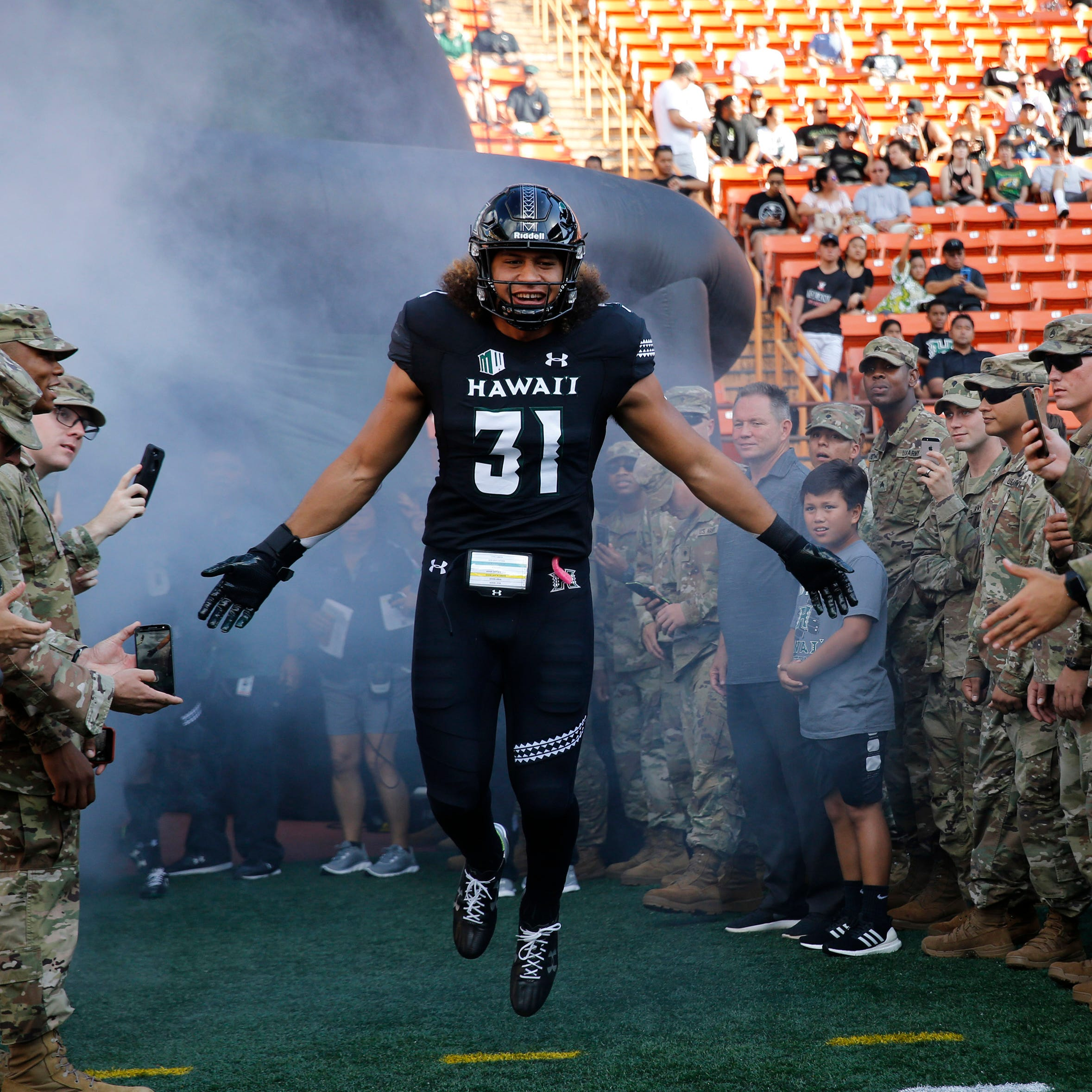 Hawaii LB coach: Detroit Lions pick Jahlani Tavai a 'plug-and-play' contributor