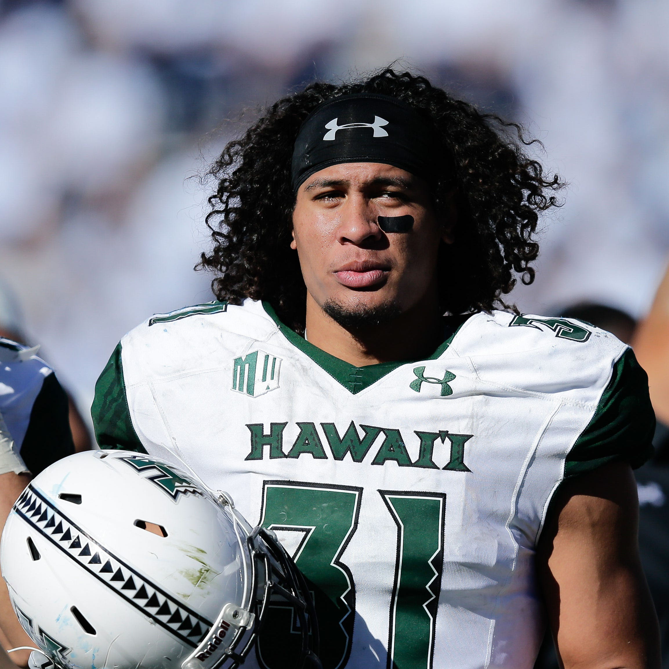 Detroit Lions Jahlani Tavai on draft reaction: 'I don't really care'