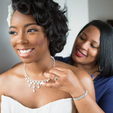 Mother of the bride worries about 'mama's boy'