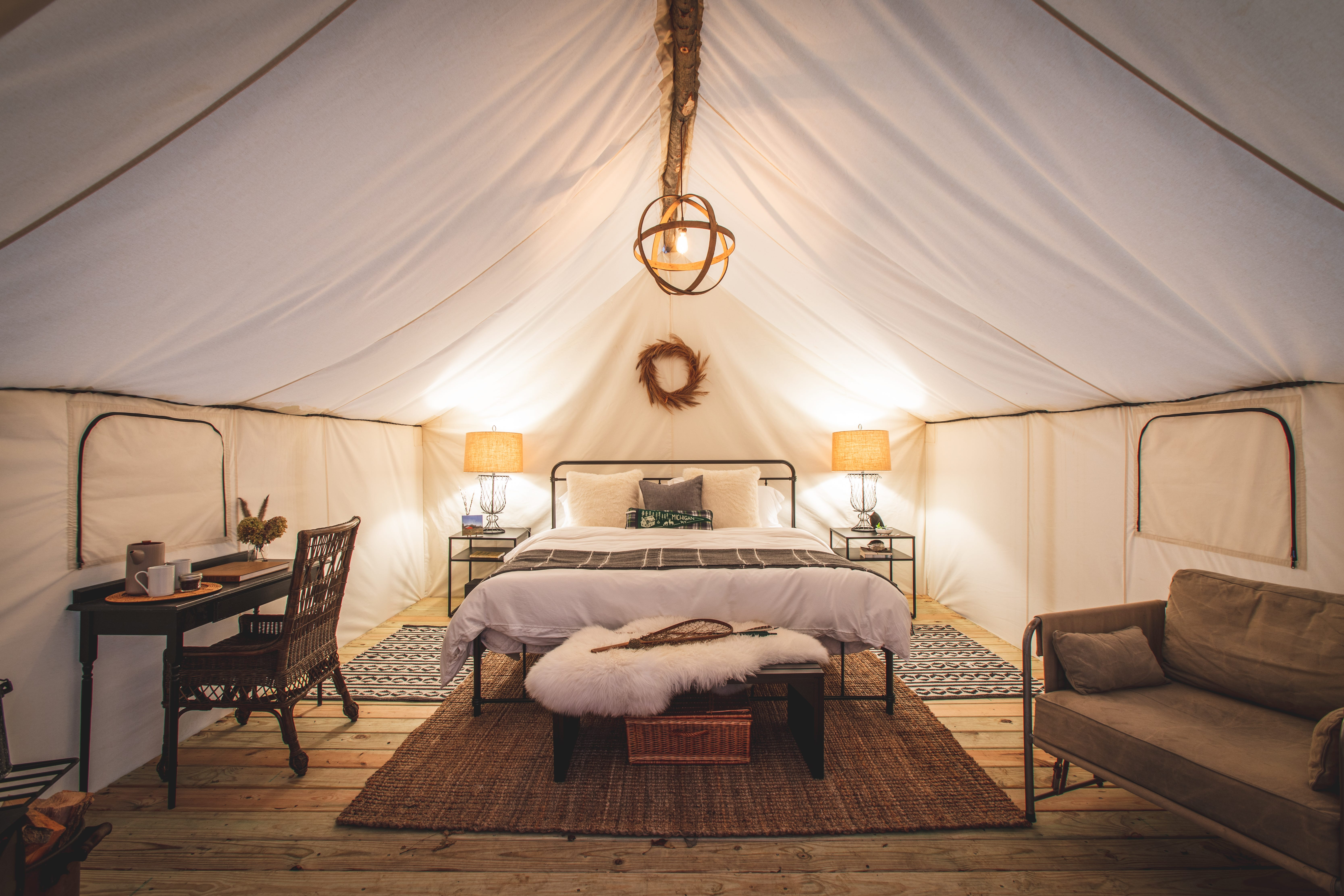 Couple gets probation for taking deposits for glamping resort, never building it