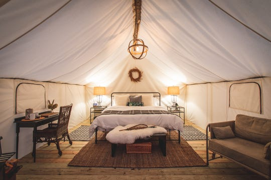 The Fields of Michigan, a luxury glamping experience in South Haven, is expected to open June 15, 2019, and features 10 guest rooms.