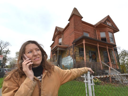 The four-floor 1894 Victorian home,at 5603 14th St., is a former motel that sat empty until Kubat acquired it from aDetroitnonprofit six months ago.