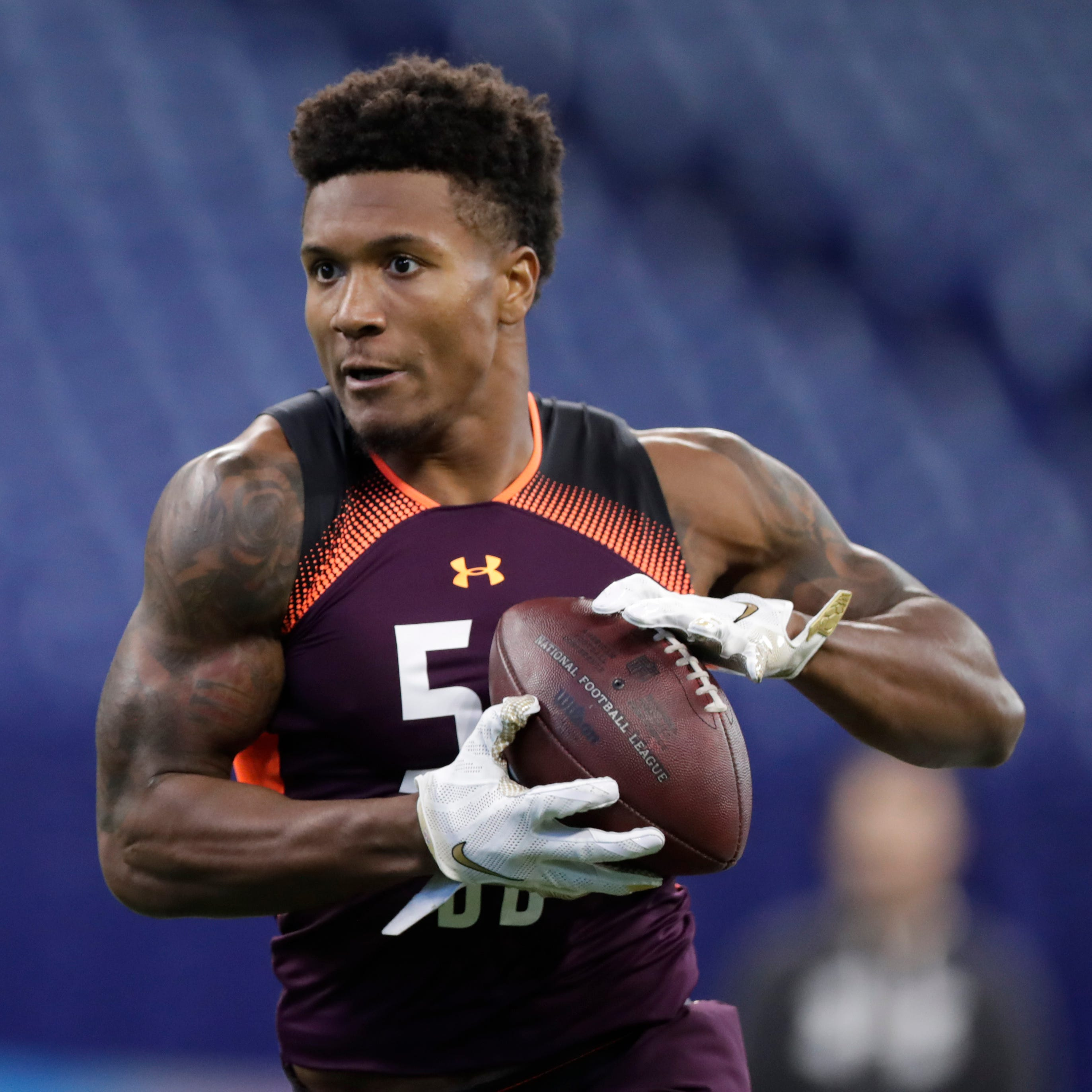 Lions trade up to select Boston College safety Will Harris in third round