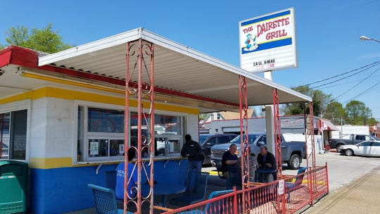 The beloved Dairette in Henderson has been voted the best hamburger and best all-around fast food restaurant in Henderson by readers of the Henderson Gleaner.