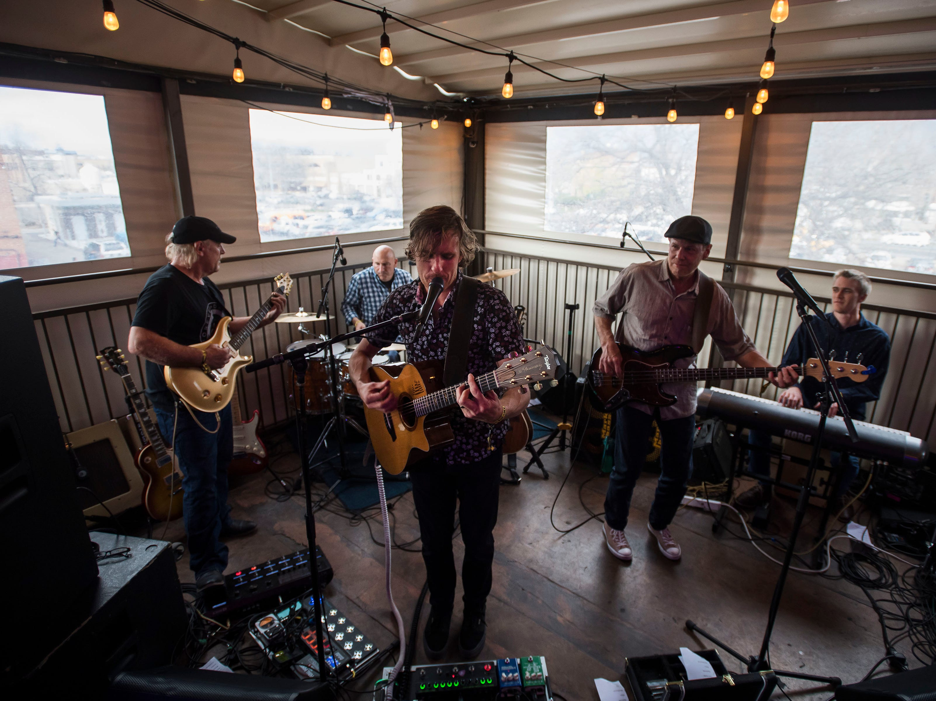The 14ers play Tony's Bar & Rooftop during the FoCoMX XI music festival on Friday, April 26, 2019, in Fort Collins, Colo.