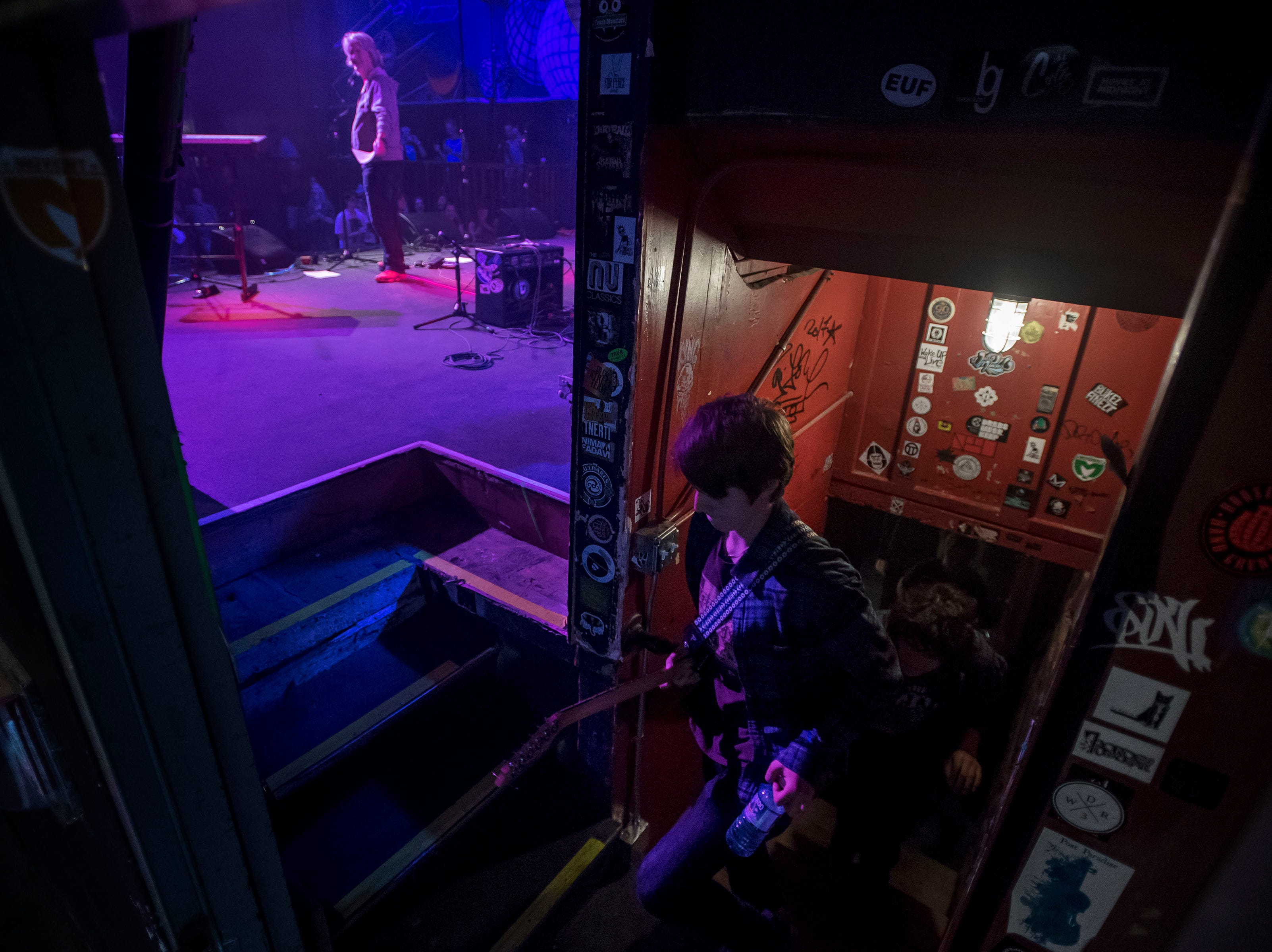 My Dog Ate Chad takes the stage at the Aggie Theatre during the FoCoMX XI music festival on Friday, April 26, 2019, in Fort Collins, Colo.