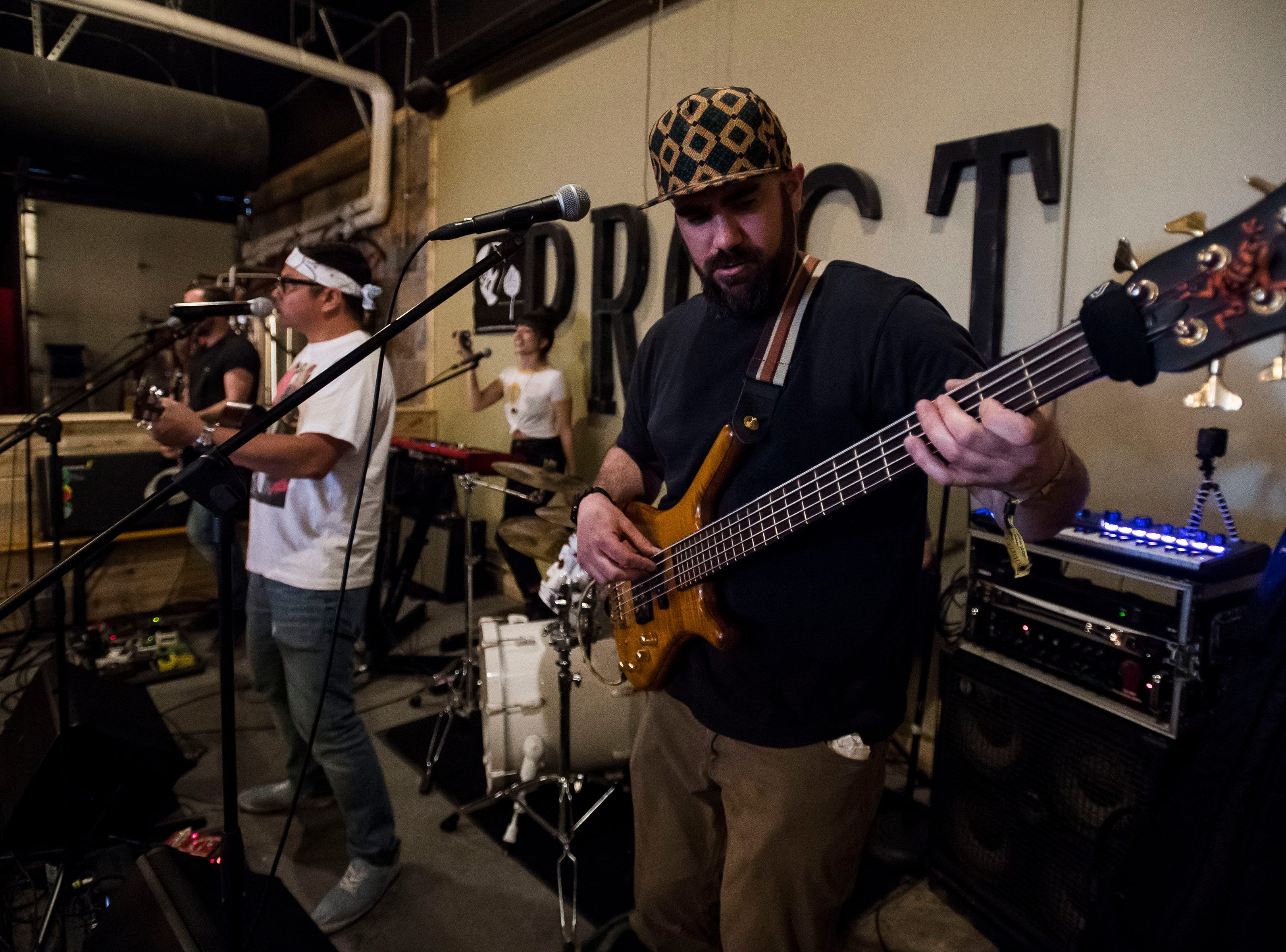 Lola Rising plays at Prost Brewing Co. and Biergarten during the FoCoMX XI music festival on Friday, April 26, 2019, in Fort Collins, Colo.