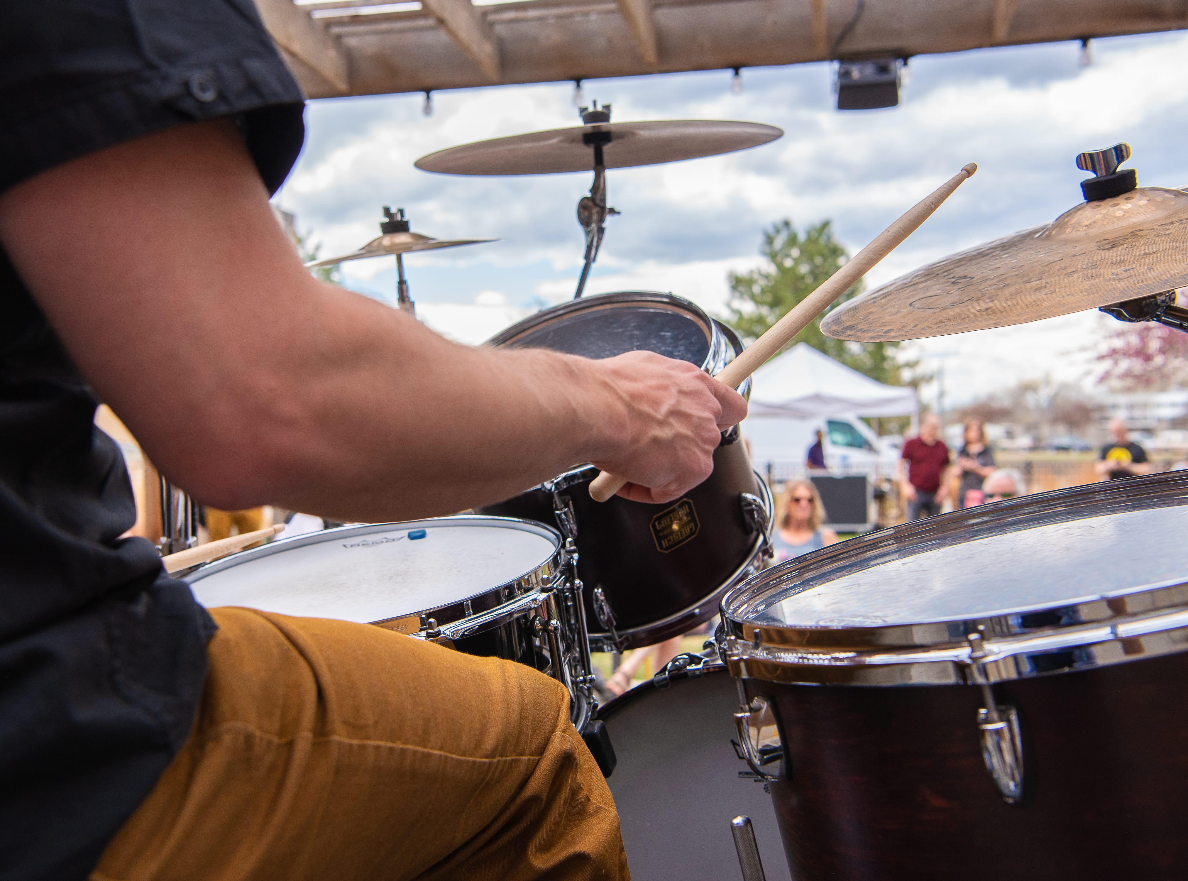 Steelin' The Spaceways performs at New Belgium Brewing Co. during the FoCoMX XI music festival on Friday, April 26, 2019, in Fort Collins, Colo.