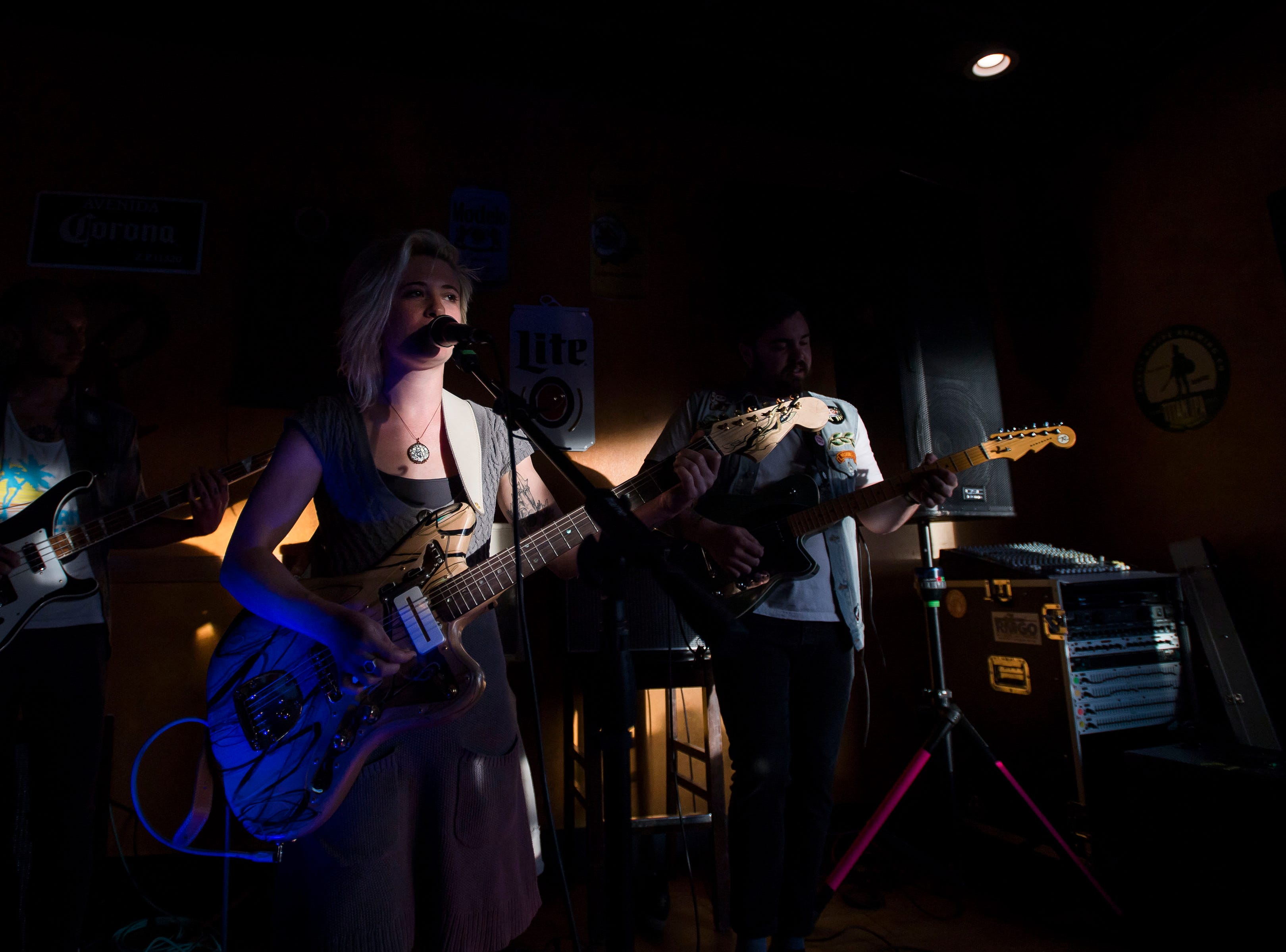 oxeye daisy performs at Illegal Pete's during the FoCoMX XI music festival on Friday, April 26, 2019, in Fort Collins, Colo.