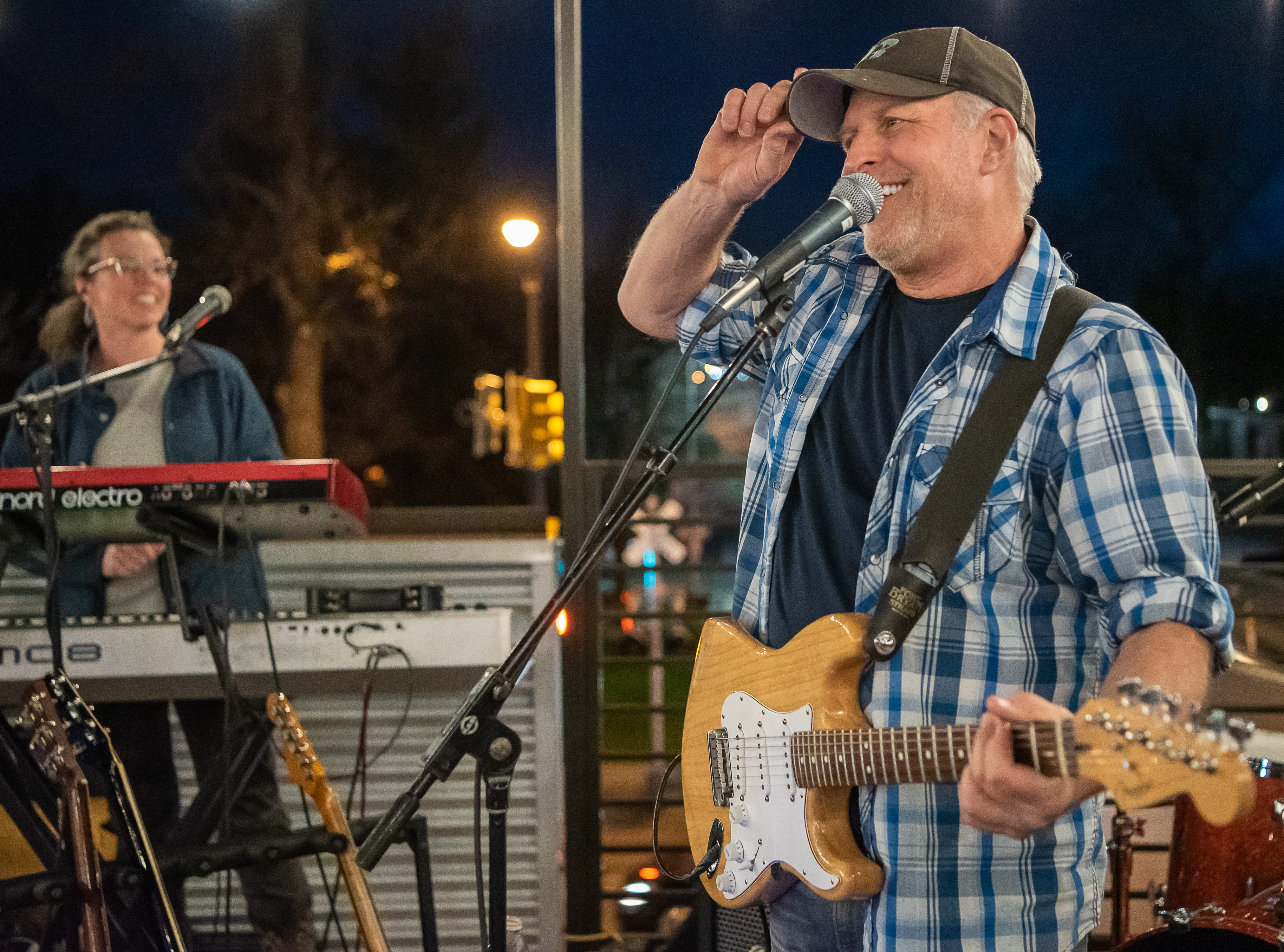 Steve Manshel performs at Metro Urban Food and Booze during the FoCoMX XI music festival on Friday, April 26, 2019, in Fort Collins, Colo.