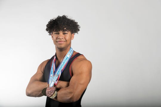 Harrison Strohl, Riverdale, Weightlifting, Spring All-Area athletes